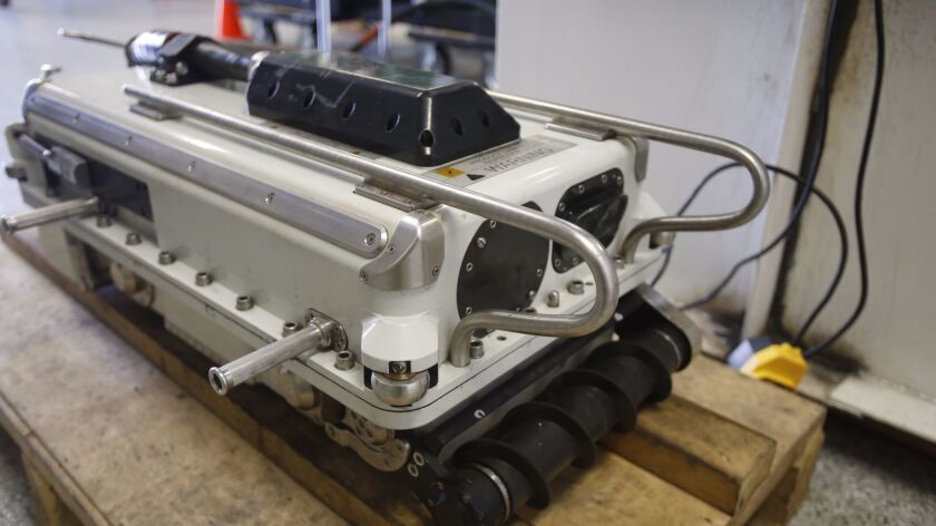 Diakont plans to roll out a robot called the Stingray that will inspect the floor of tanks containing fuels such as gasoline, diesel and jet fuel.