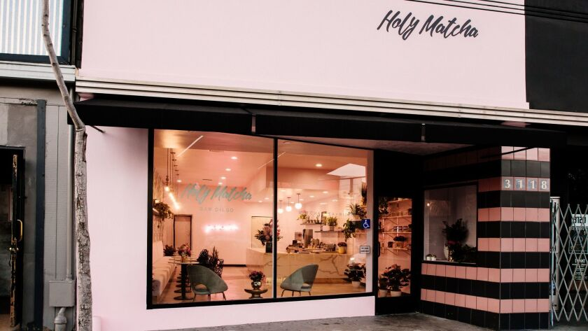 Holy Matcha is located at 3118 University Ave., in North Park.