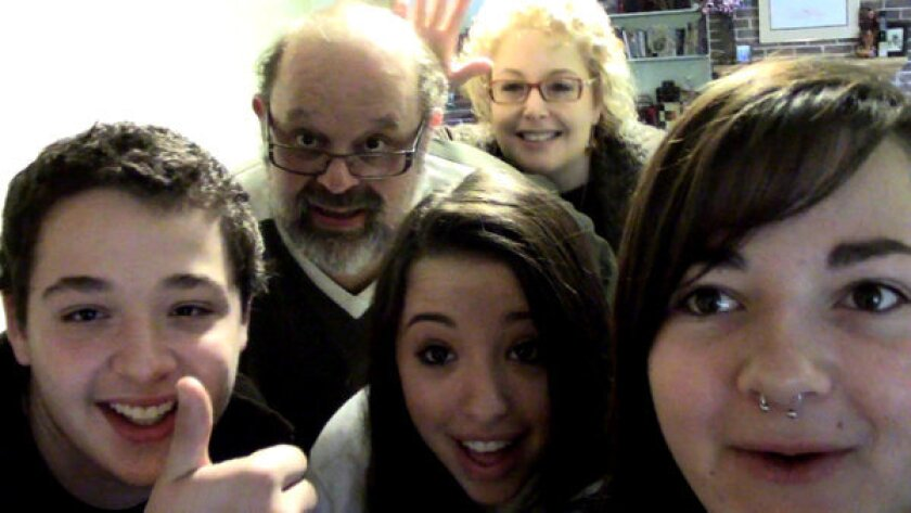 """Breeanna Speicher with the Jacobson family in """"Generation Cryo"""" on MTV."""