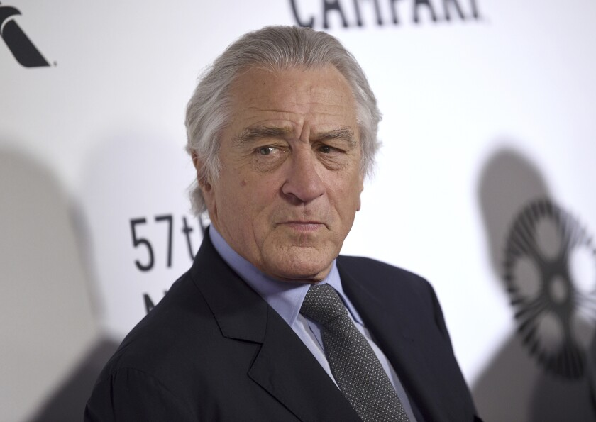 Robert De Niro has been sued by his former assistant, whom he sued six weeks ago.