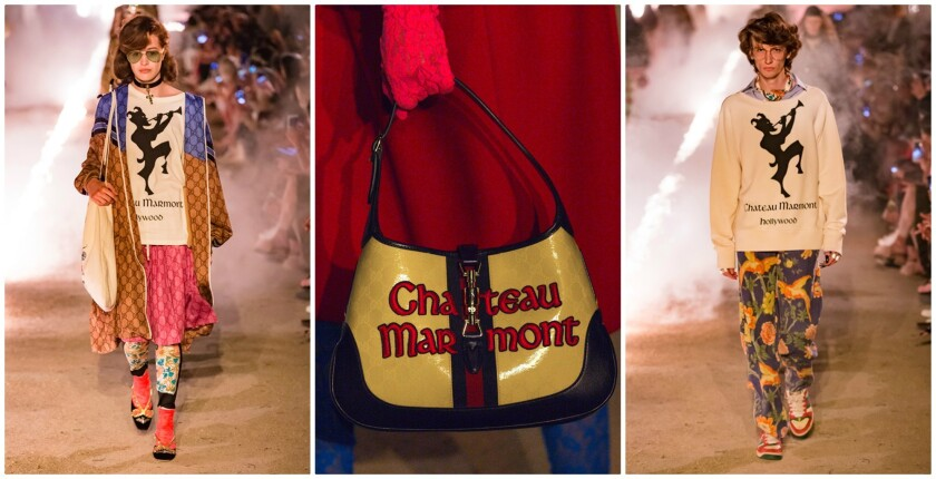 388a8306afd Gucci takes inspiration from the Chateau Marmont for resort 2019 capsule  collection