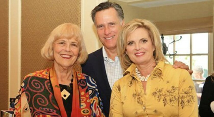 Karolyn Dorsee with Mitt and Ann Romney