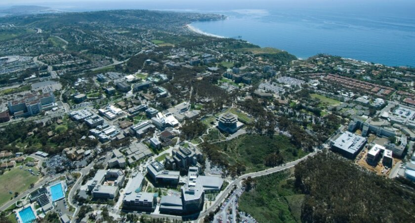 UC San Diego has nearly 30,000 students, some of whom are part of the county's large work force.