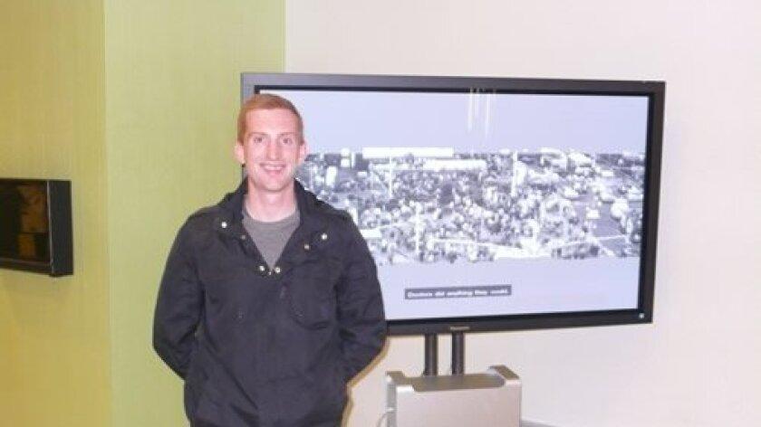 Nathan Wade's Computer enhanced Surveillance video at Calit 2.