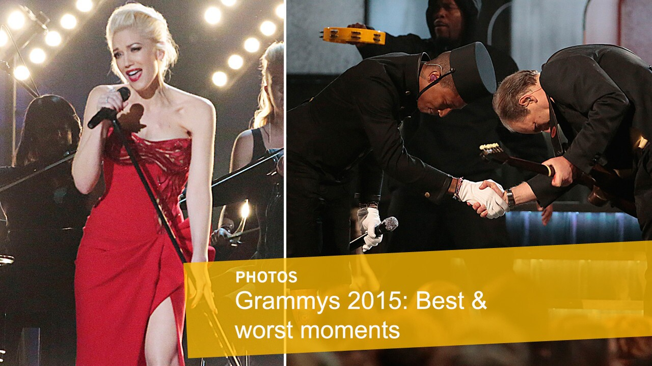Click through to see the best and worst moments from the 57th Grammy Awards ceremony.
