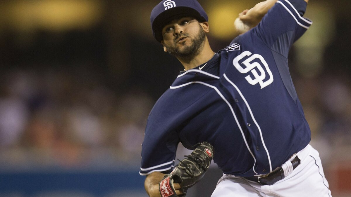 f2a2ed2c368 Padres  Torres a pioneer in protective cap - The San Diego Union-Tribune