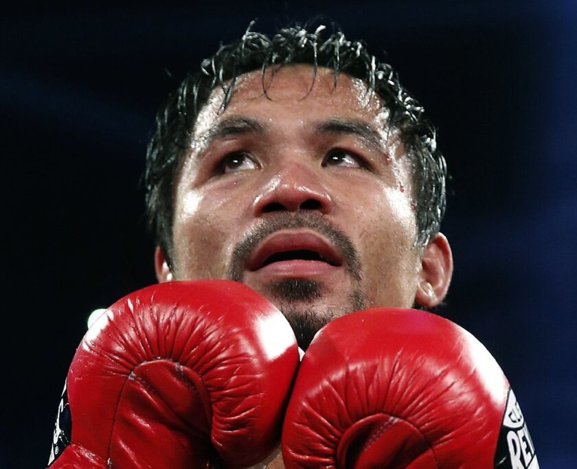 Is Manny Pacquiao headed for financial problems?