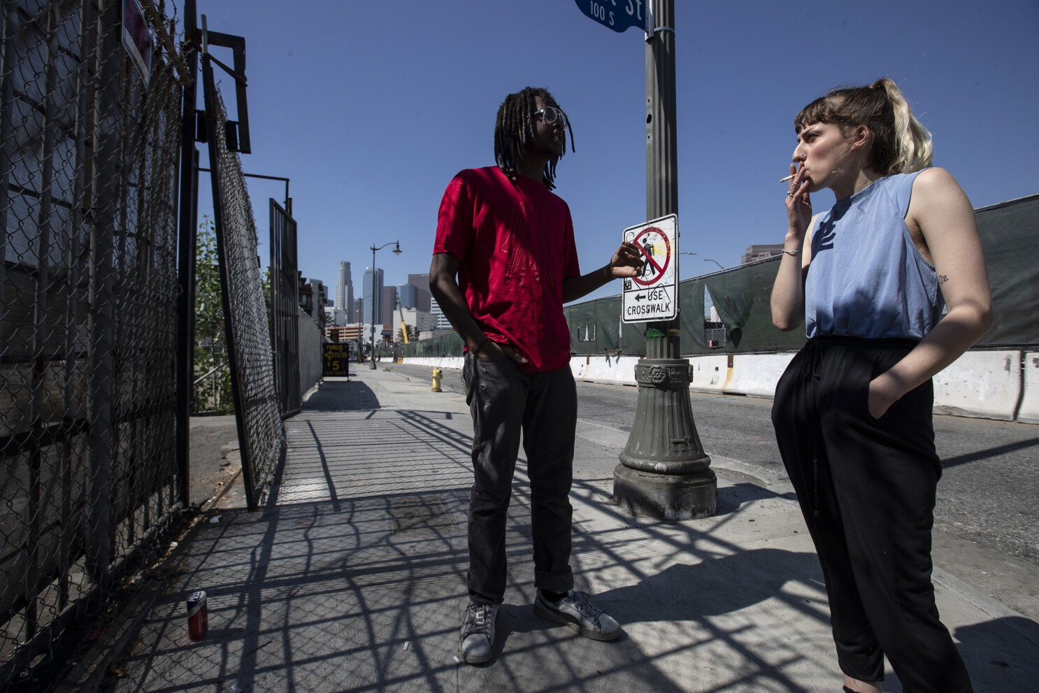 City Beat They Came To L A To Chase A Hollywood Dream Two Weeks Later They Were Homeless Los Angeles Times