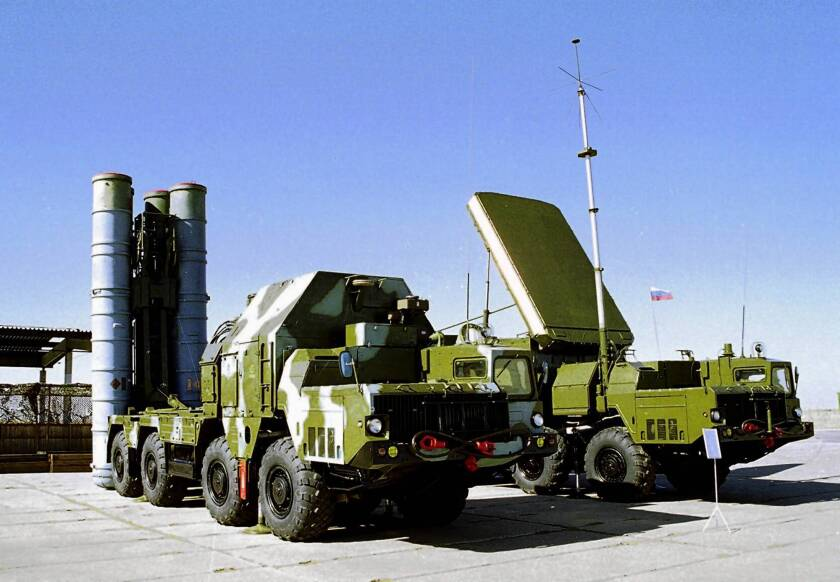 """Russian Deputy Foreign Minster Sergei Ryabkov said Russia's sale of S-300 air defense missile systems to Syria would be a stabilizing factor that could restrain international """"hotheads."""""""