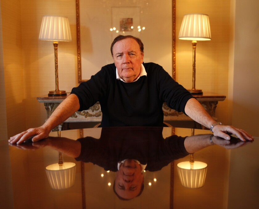 James Patterson is creating a $300,000 book that will explode after it has been read.