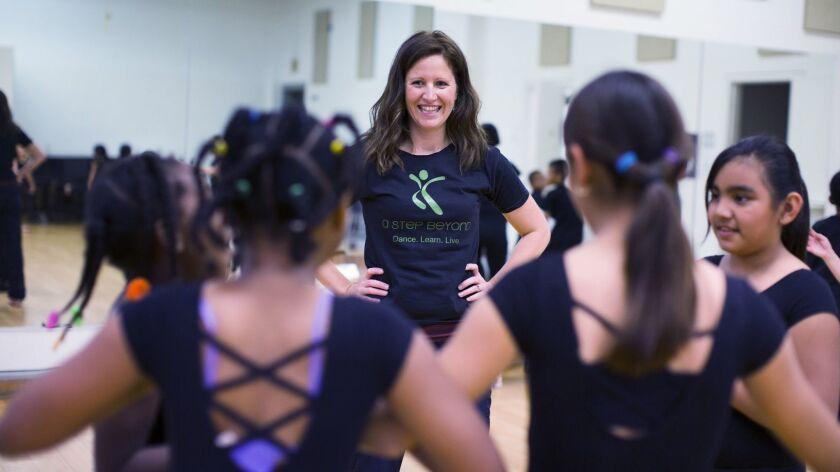 Dancer Jennifer Oliver for why the arts matter. Angela Pierce photo
