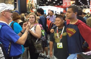 Comic-Con 2015: Fans show their appreciation for Superman