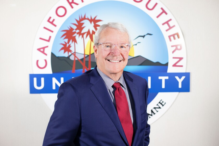 California Southern officials announced Chancellor Glenn Roquemore has been named president of the online university. He replaces Gwen Finestone, who's served as president since 2018.