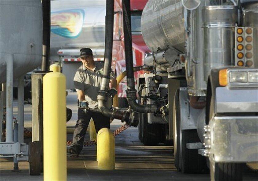 Gasoline delivery in Little Rock, Ark.