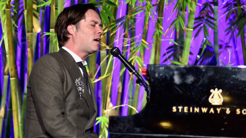 Rufus Wainwright performs at the Hammer Museum's Gala in the Garden.