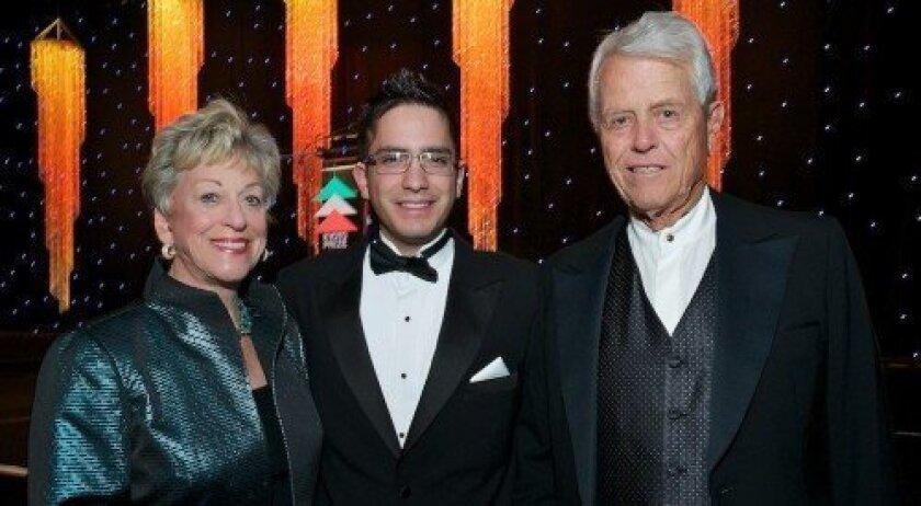 Roberta Burnham, Rodrigo Ortega Polo and Malin Burnham (Photo: Carol Sonstein)