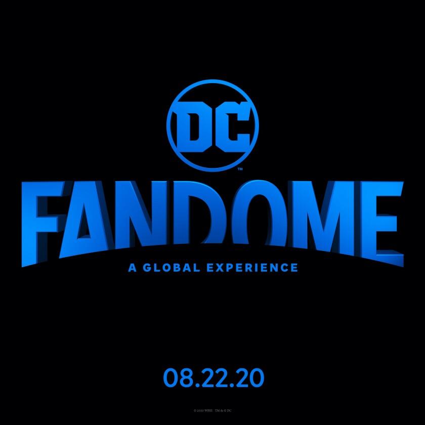 The logo for DC FanDome