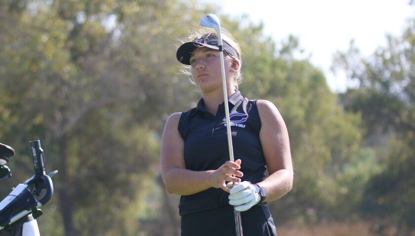 Carlsbad sophomore Meghan Royal turned in an even par final round to tie for sixth place.