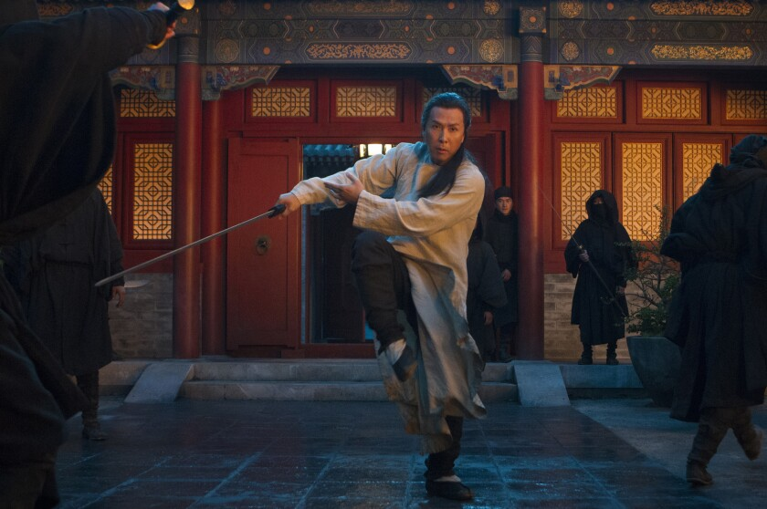 "Donnie Yen in the Weinstein Co.'s ""Crouching Tiger, Hidden Dragon: The Green Legend."""
