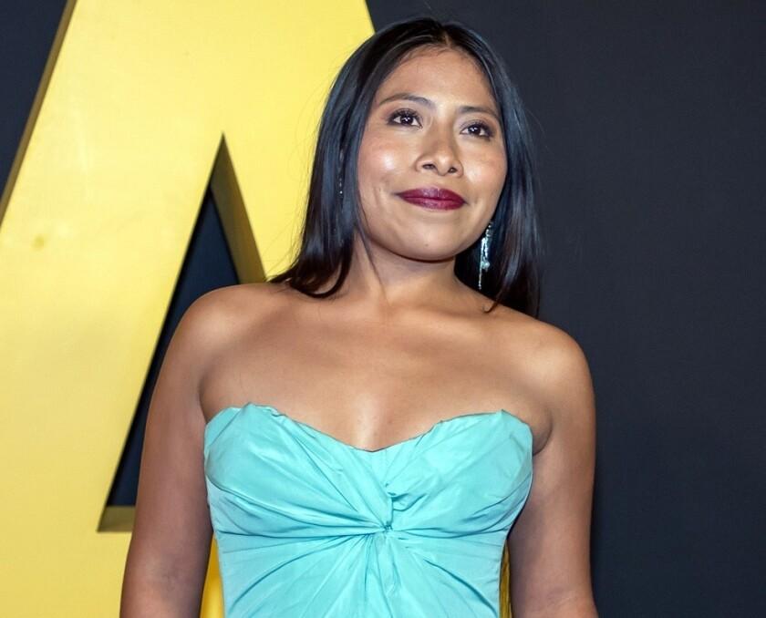 """""""Yo estoy orgullosa de ser una indígena oaxaqueña, y me apena que haya personas que no sepan el significado correcto de las palabras"""", afirmó Yalitza Aparicio."""