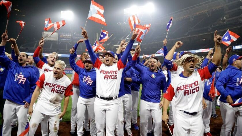 Puerto Ricans want autonomous WBC team if people vote for statehood in June