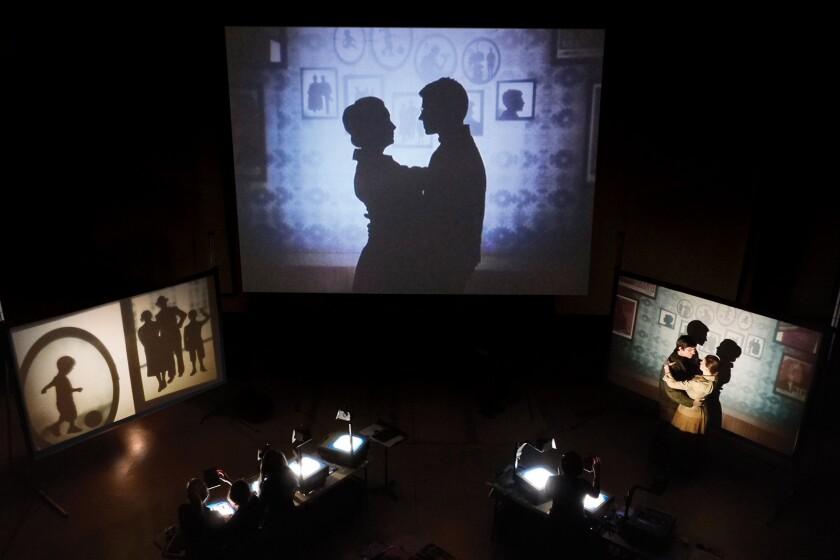 "Manual Cinema brings the multimedia-enhanced work ""Mementos Mori"" to the Broad Stage in Santa Monica."