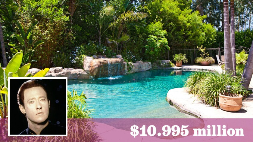 """Brent Spiner of """"Star Trek: The Next Generation"""" fame has listed his Malibu estate for sale at $10.995 million."""