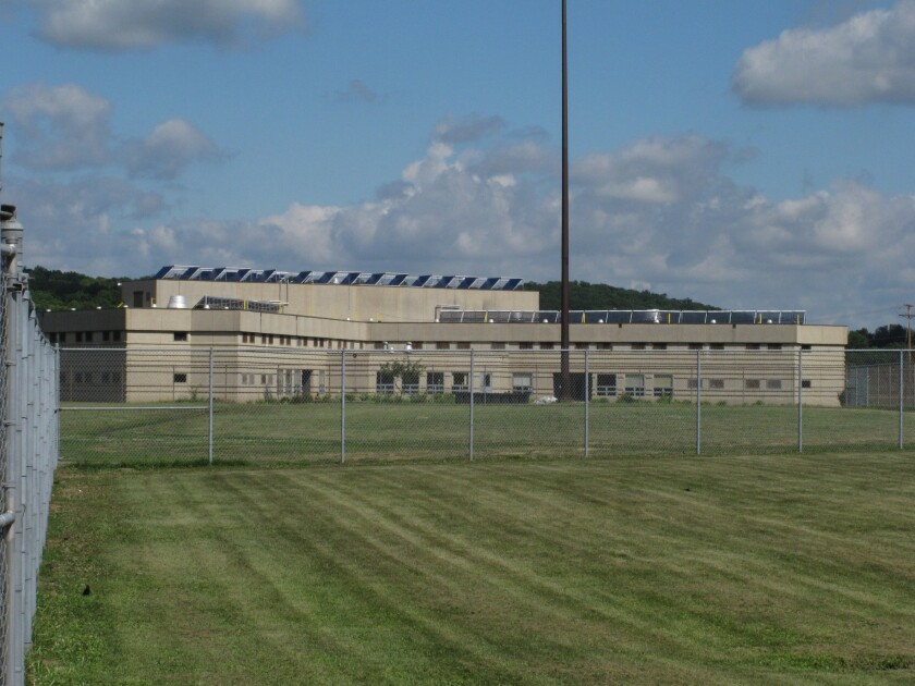 Ross Correctional Institution in Chillicothe, Ohio, is pictured in 2014. Correction officers and inmates at the prison are reportedly experiencing overdose symptoms after exposure to an unknown substance.