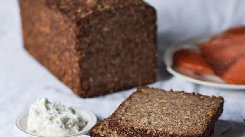"""The Ammerland loaf, a coarse-textured, rustic rye bread from northern Germany, is featured in Stanley Ginsberg's book, """"The Rye Baker: Classic Breads from Europe and America."""""""