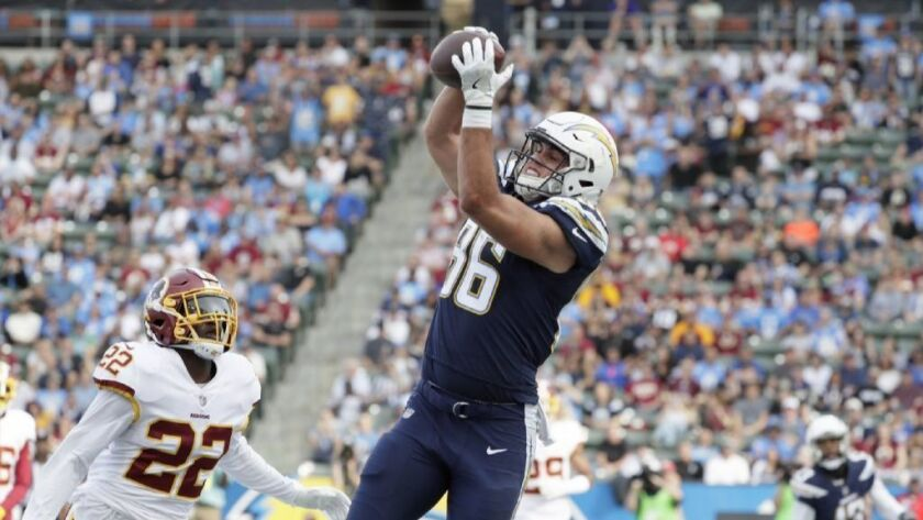 834b6199 With Antonio Gates gone, Hunter Henry is ready to be the man at ...