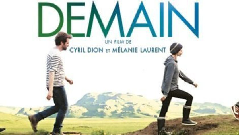 'Demain' screens March 10 at San Diego French American School