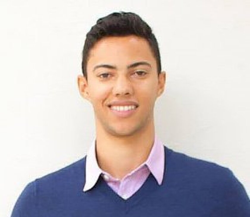 "Nicolas ""Nick"" Leslie, 20, of from Del Mar, was among 85 Berkeley students in Nice for the European Innovation Academy."