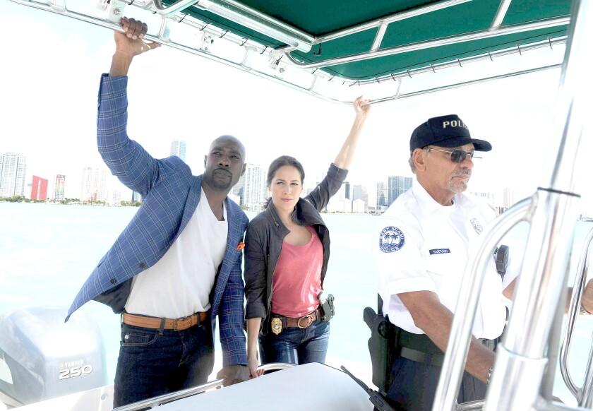 Morris Chestnut and Jaina Lee Ortiz star in 'Rosewood'