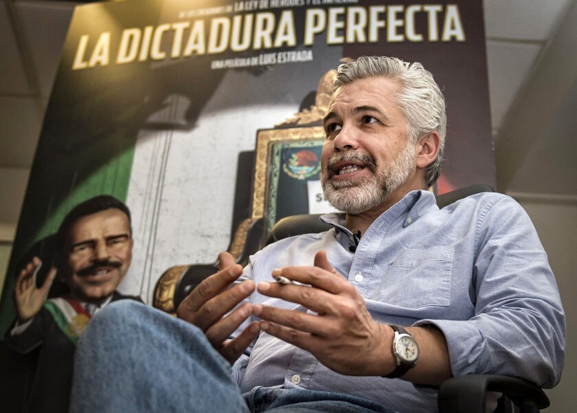 Film director Luis Estrada