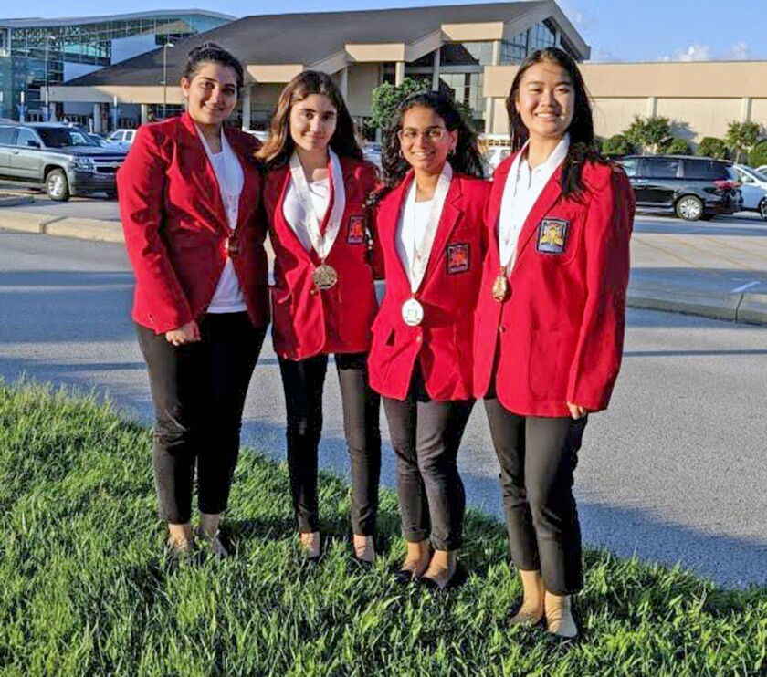 Clark Magnet High School students win first place in a national competition.