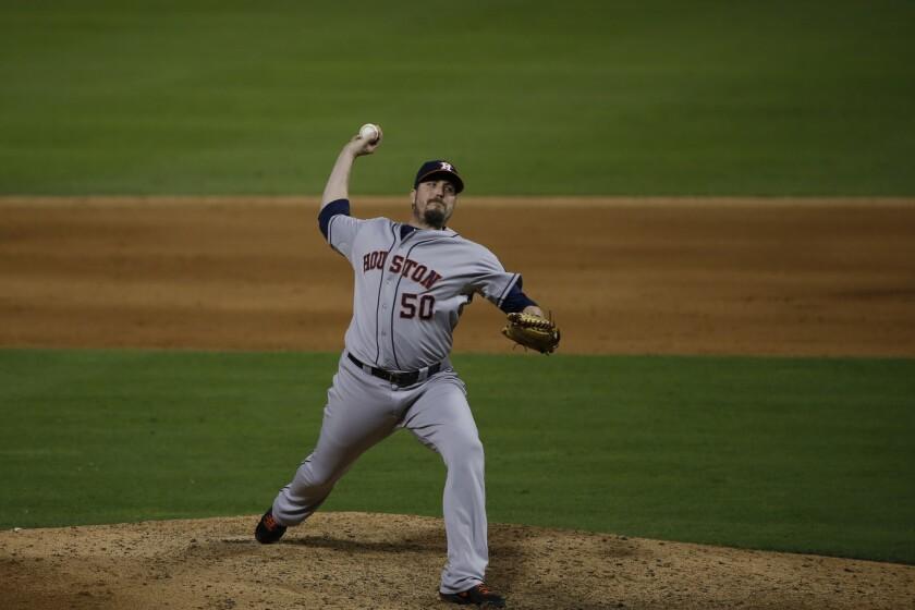Astros pitcher Chad Qualls