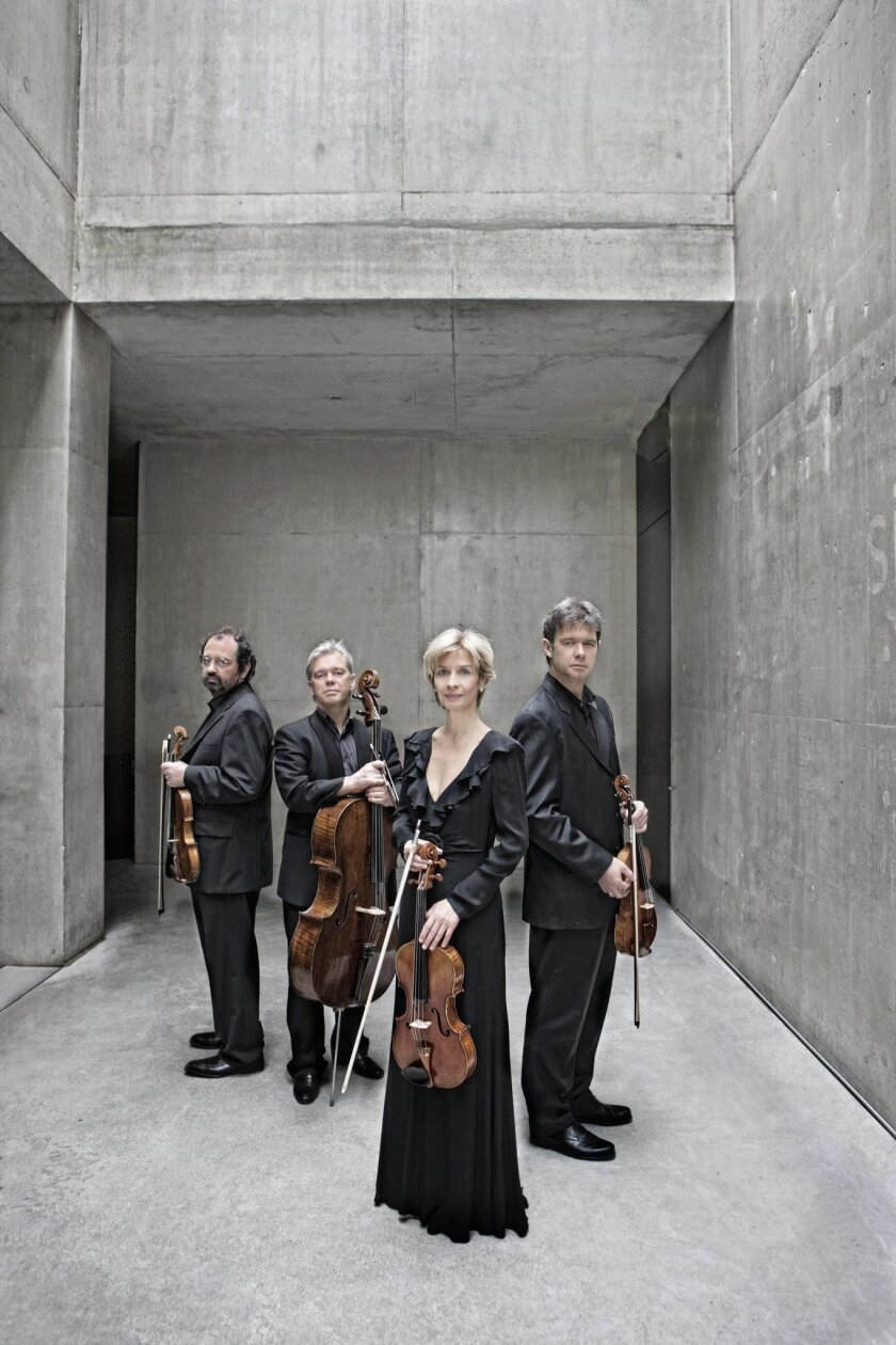 The Hagen Quartet from Austria opens LJMS's 46th season Revelle Chamber Music Series, 8 p.m. Oct. 25 at MCASD's Sherwood Auditorium.  Harald Hoffmann