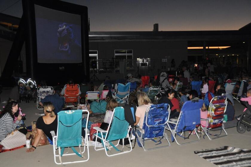 Solana Ranch Movie Night