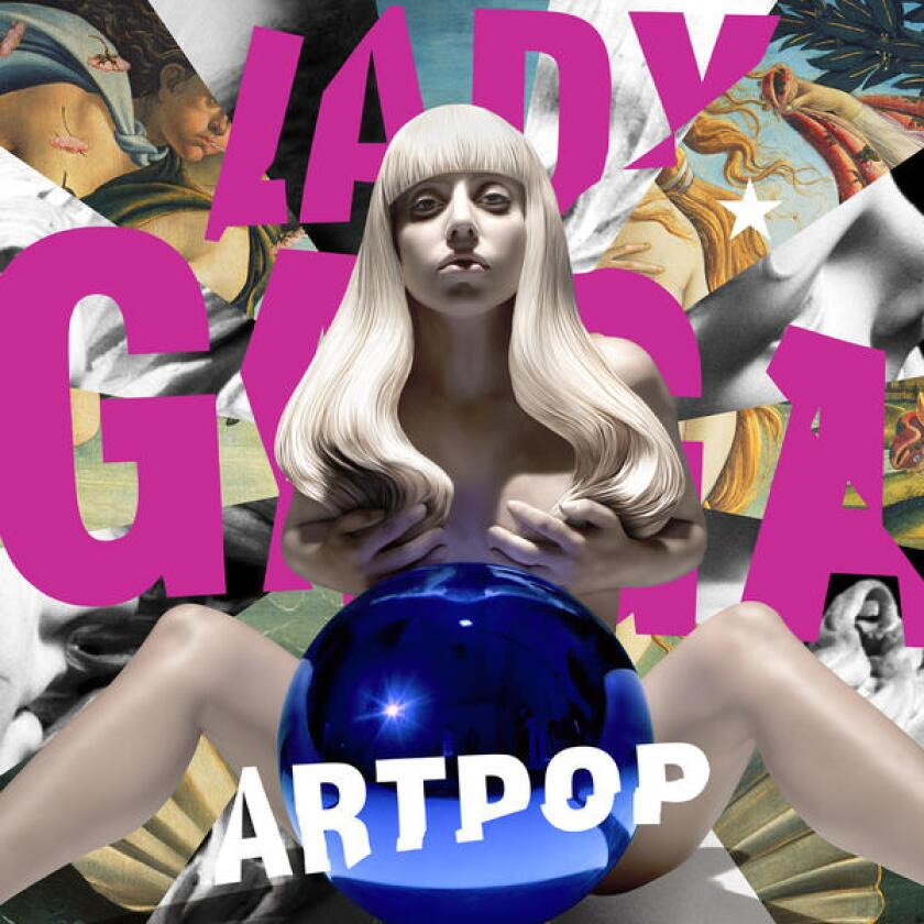 """Lady Gaga's new album, with a cover designed by Jeff Koons, is """"Artpop."""""""