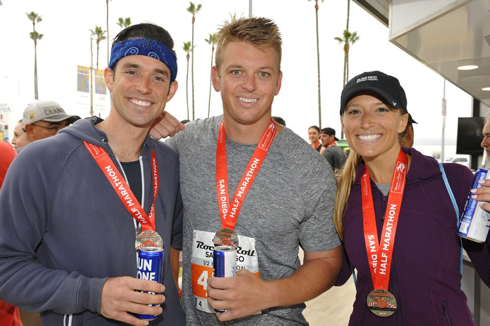 The annual Rock 'n' Roll Marathon drew in crowds of people locally, and from across the nation, to race a 26-mile course through San Diego on Sunday, June 4, 2017. (Jared Gase)