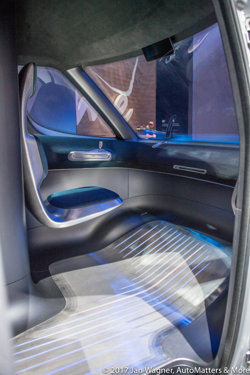 Spacious and functional drivers compartment