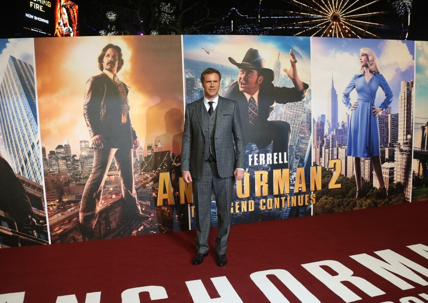 Will Ferrell in 'Anchorman 2'