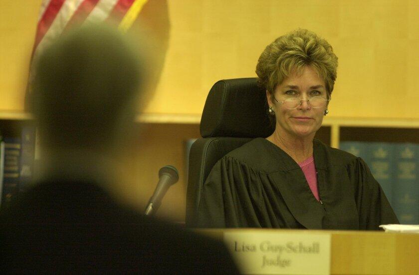 Incumbent Judge Lisa Schall [U-T file]