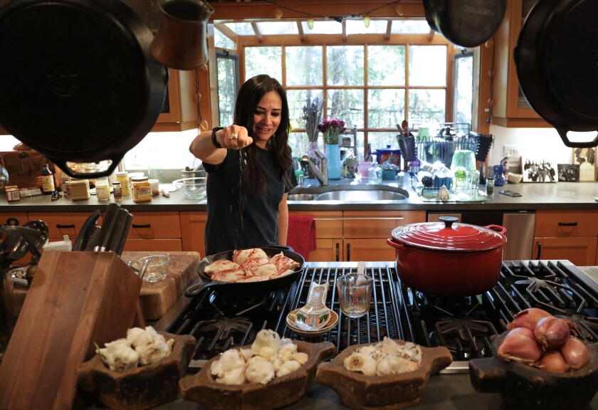 "Cooking is essential to Pamela Adlon's semi-autobiographical FX series, ""Better Things"""