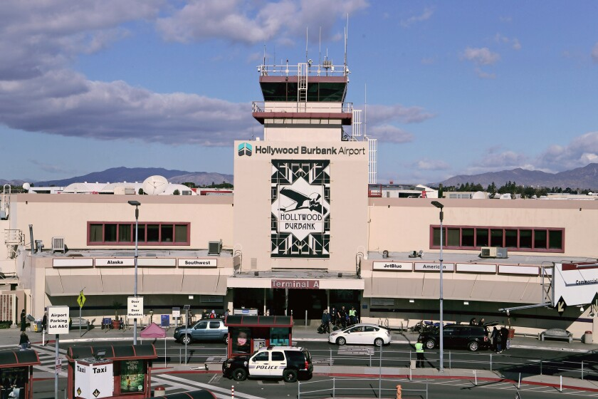 An Alabama woman attempted to smuggle 38 pounds of marijuana through Hollywood Burbank Airport on Dec. 30, according to Burbank police.