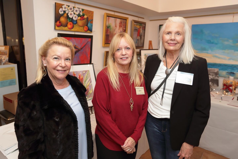 Valerie Sullivan, Pam Linton, Karen Aschenbrenner