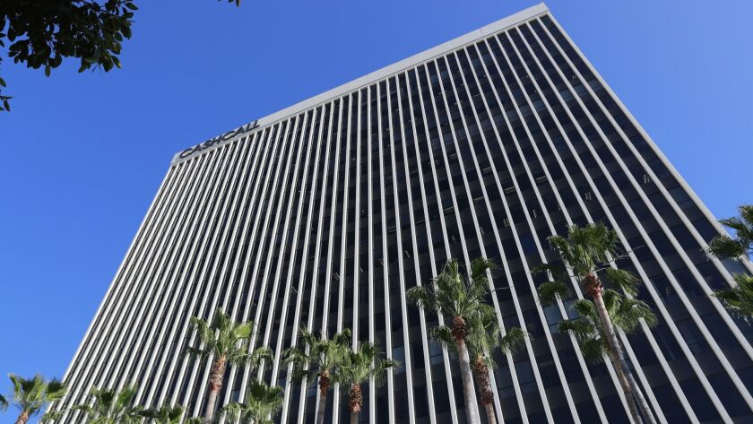 ORANGE, CALIF. -- MONDAY, JUNE 4, 2018: The CashCall headquarters at One City Boulevard West in Ora