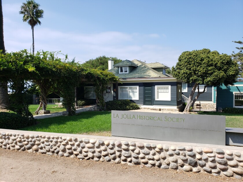 The La Jolla Historical Society's Wisteria Cottage Gallery at 780 Prospect St. will reopen Thursday, Oct. 15.