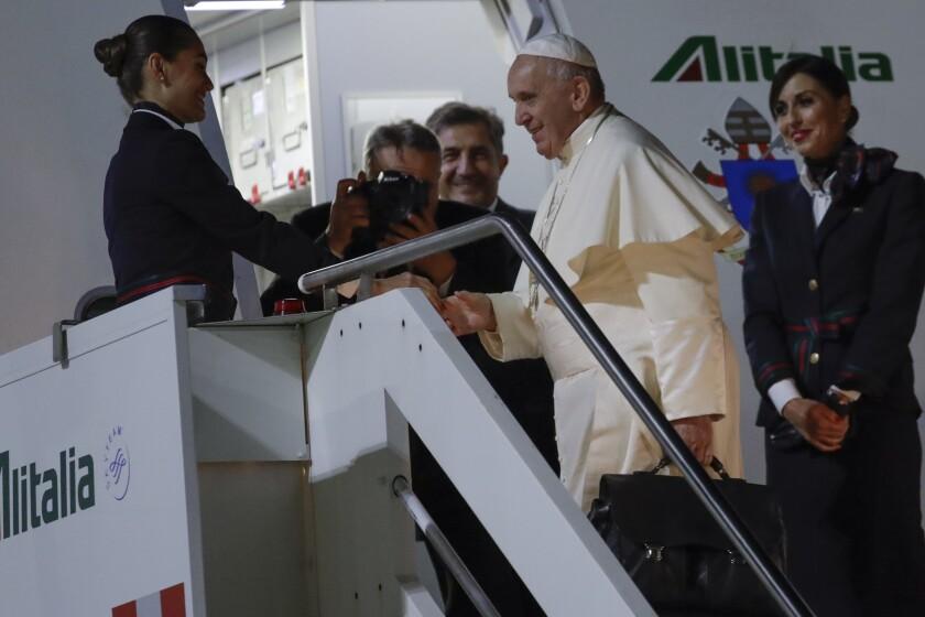 Italy Asia Pope