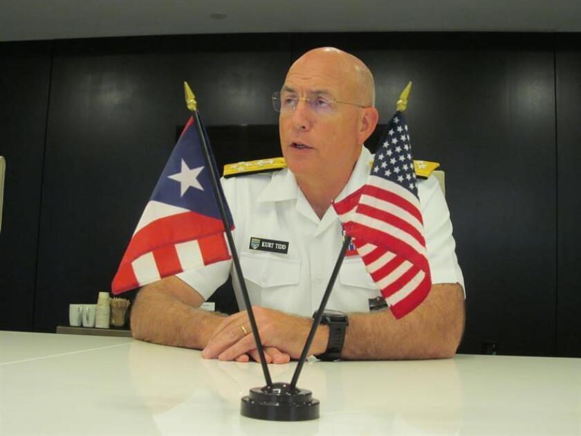 El jefe del Comando Sur de Estados Unidos, Kurt W. Tidd, será reemplazado en el cargo por Craig Faller. EFE/Archivo